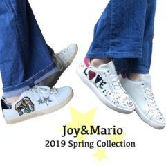Joy&Mario 新作スニーカー入荷致しました♪