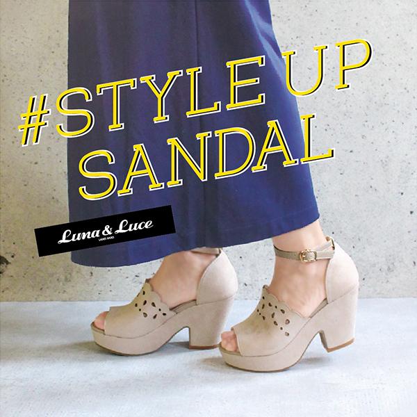 【一部店舗】#STYLE UP SANDAL