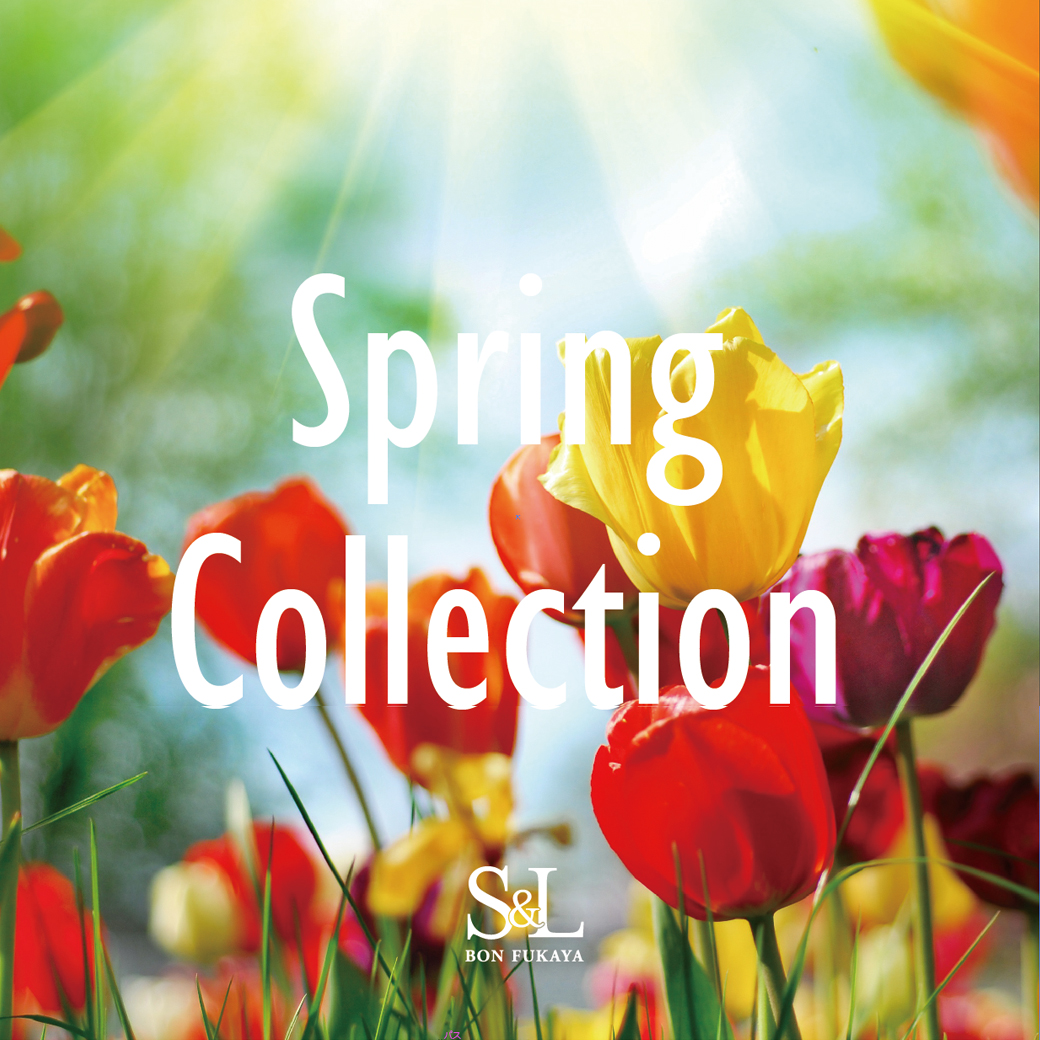【S&L店】Spring Collection開催中♪