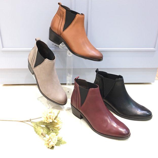 Mother Leaf新作ブーツできれいめカジュアルスタイル★☆