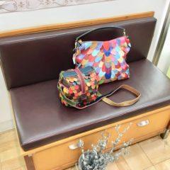 秋を 彩るエスタシオン2way bag