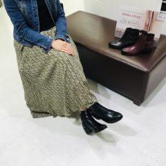 ☆ダークカラーでオトナスタイルが決まるマザーリーフショートブーツ☆