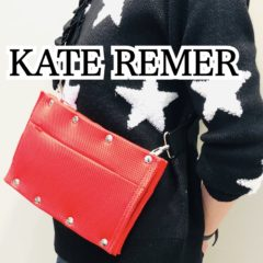「KATE REMER」POPUP 好評です♡