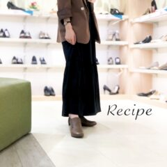 【NEW】秋を先取り♡Recipe(レシピ)のショートブーツ♪