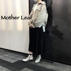 Mother Leaf(マザーリーフ)の可愛い定番ブーツ♡