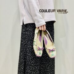 『COULEUR VARIE』 (クロールバリエ)☆新作パンプス☆