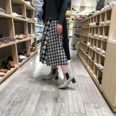 大人っぽく履ける♡サイドゴアブーツ