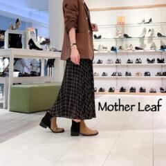 【Mother Leaf(マザーリーフ)】大人可愛い♡ショートブーツ入荷しました♬